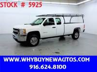 2011 Chevrolet Silverado 2500HD ~ 4x4 ~ Extended Cab ~ Only 47K Miles!