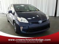 Pre-Owned 2012 Toyota Prius Three Hatchback in Greensboro NC