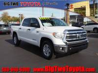 Certified Pre Owned 2016 Toyota Tundra SR5 4x2 SR5 CrewMax Cab Pickup SB (5.7L V8 FFV) for Sale in Chandler and Phoenix Metro Area