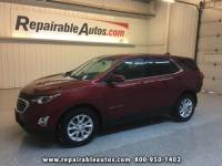 2018 Chevrolet Equinox LT FWD Repairable Rear Damage