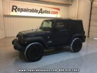 2013 Jeep Wrangler Sport 4WD Repairable Theft Damage