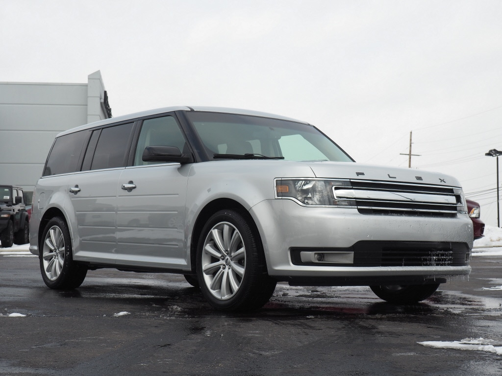 Photo Used 2015 Ford Flex SEL AWD SEL Crossover in Woodhaven, MI