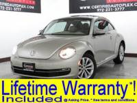 2014 Volkswagen Beetle Coupe TDI NAVIGATION SUNROOF HEATED LEATHER SEATS FENDER SOUND SYSTEM BLUETOOTH