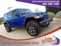 Certified Used 2018 Jeep Wrangler Unlimited Rubicon 4x4 Rubicon 4x4 For Sale NearAnderson, Greenville, Seneca SC