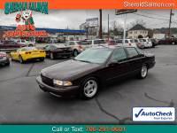 1996 Chevrolet Caprice Classic/Impala SS/Caprice Police/Taxi Pkgs 4dr Sdn 1SA Special Value Pkg