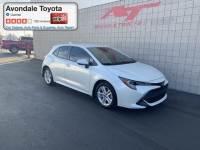 Pre-Owned 2019 Toyota Corolla Hatchback Hatchback Front-wheel Drive in Avondale, AZ