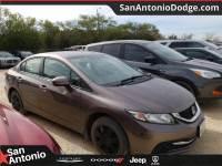 2015 Honda Civic Sedan LX CVT LX in San Antonio