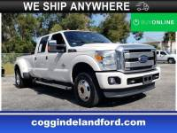 Pre-Owned 2016 Ford F-350 Platinum Crew Cab Truck in Jacksonville FL