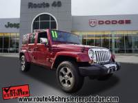 Used 2011 Jeep Wrangler Unlimited Sahara SUV For Sale in Little Falls NJ