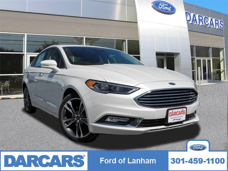 Photo 2017 Ford Fusion TITANIUM AWD Sedan Ecoboost Engine