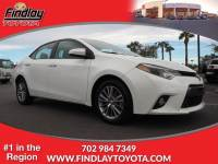 Certified Pre-Owned 2015 Toyota Corolla LE FWD 4dr Car