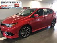 Pre-Owned 2016 Scion iM Base Hatchback in Oakland, CA
