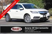 Pre-Owned 2016 Acura MDX SH-AWD with Technology Package and AcuraWatch Plus
