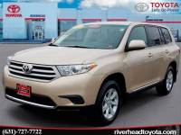 Used 2013 Toyota Highlander Base Plus V6 SUV All-wheel Drive for Sale in Riverhead, NY