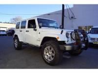 Used 2016 Jeep Wrangler JK Unlimited Sahara 4x4 SUV For Sale in Little Falls NJ