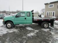 Used 2005 Ford F-350 4x4 Ex-Cab Flatbed Truck