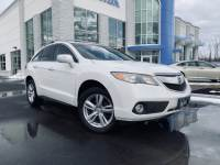 Used 2014 Acura RDX RDX AWD with Technology Package White Diamond Pearl For Sale | Bennington VT | VIN:5J8TB4H52EL010230