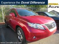 Used 2010 LEXUS RX For Sale at Duval Acura | VIN: 2T2ZK1BA9AC020022