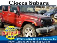 Used 2008 Jeep Wrangler Unlimited Sahara For Sale in Allentown, PA