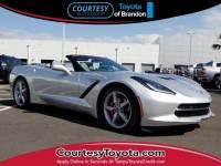 Pre-Owned 2014 Chevrolet Corvette Stingray Base Convertible near Tampa FL