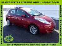 2015 Nissan LEAF S Hatchback For Sale in Madison, WI