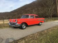 1957 Chevrolet Bel Air -AIR CONDITIONING-700 R4 TRANS-DRIVER READY-VIDEO