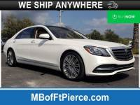 Pre-Owned 2019 Mercedes-Benz S-Class S 450 Sedan in Jacksonville FL