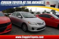 Pre-Owned 2012 Toyota Corolla LE Sedan Front-wheel Drive in Jacksonville FL