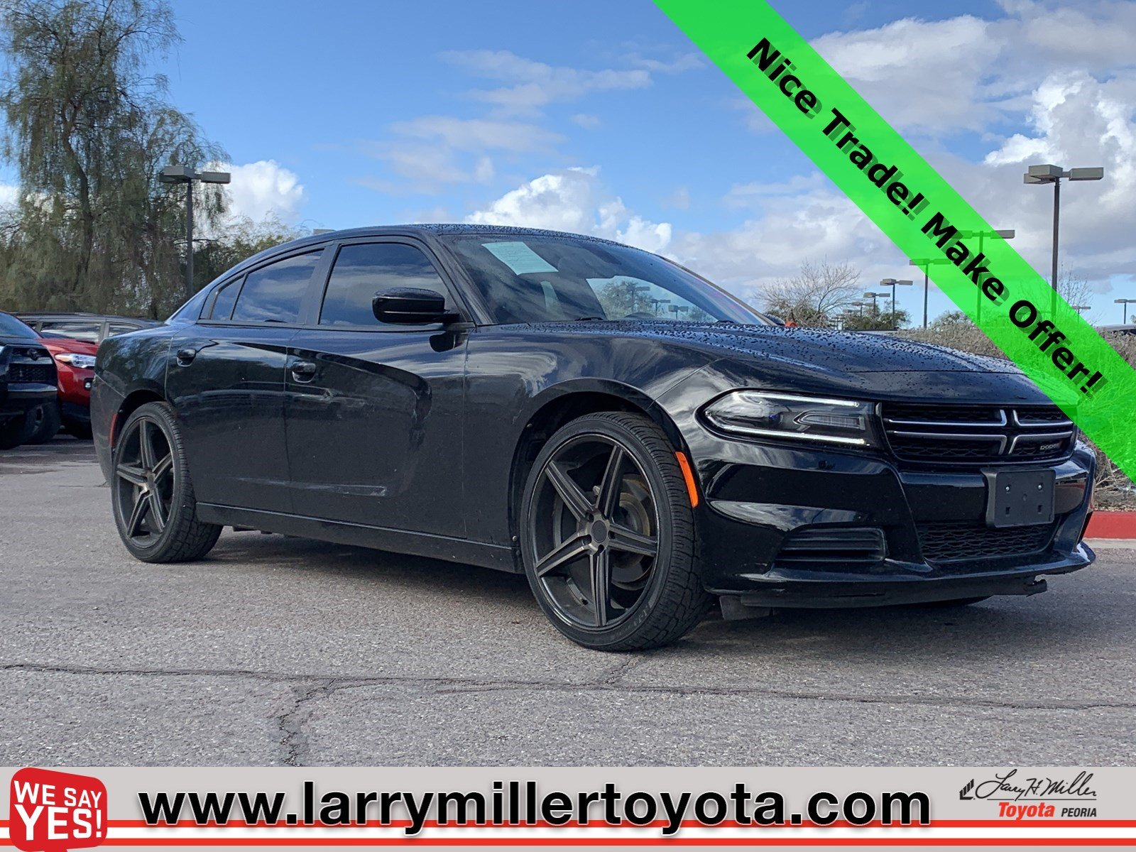 Photo Used 2015 Dodge Charger For Sale  Peoria AZ  Call 602-910-4763 on Stock 90607A