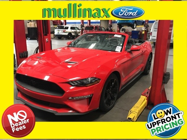 Photo Used 2018 Ford Mustang Ecoboost W Black Accent Package Convertible I-4 cyl in Kissimmee, FL