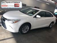 Certified Pre-Owned 2016 Toyota Camry SE Sedan in Oakland, CA