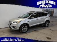 2018 Ford Escape Titanium ECOBOOST SUV in Duncansville | Serving Altoona, Ebensburg, Huntingdon, and Hollidaysburg PA