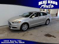 2016 Ford Fusion SE Sedan in Duncansville | Serving Altoona, Ebensburg, Huntingdon, and Hollidaysburg PA