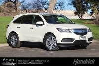 Used 2016 Acura MDX w/Tech/AcuraWatch Plus in Pleasanton