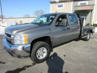 Used 2008 Chevrolet 3500 4x4 Crew-Cab Flat-Bed