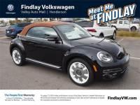 2019 Volkswagen Beetle Convertible Final Edition SEL