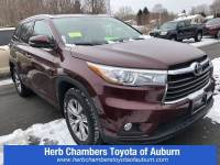 Used 2015 Toyota Highlander XLE Sport Utility All-wheel Drive in Auburn, MA
