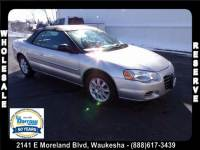 2005 Chrysler Sebring GTC Convertible For Sale in Madison, WI