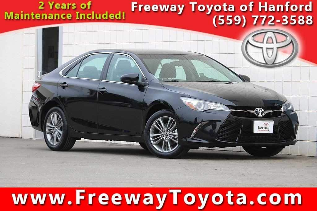 Photo 2016 Toyota Camry Sedan Front-wheel Drive - Used Car Dealer Serving Fresno, Central Valley, CA