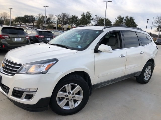 Photo Used 2014 Chevrolet Traverse LT For Sale Grapevine, TX