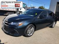 Certified Pre-Owned 2017 Toyota Camry SE Sedan in Oakland, CA