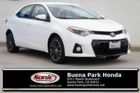 Pre-Owned 2015 Toyota Corolla 4dr Sdn CVT Auto S Plus (Natl)