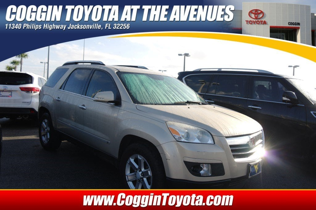 Photo Pre-Owned 2008 Saturn OUTLOOK XR SUV Front-wheel Drive in Jacksonville FL
