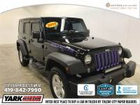 Certified Used 2015 Jeep Wrangler Unlimited Sport 4x4 SUV in Toledo