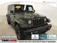 Certified Used 2015 Jeep Wrangler Unlimited Rubicon 4x4 SUV in Toledo