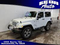 2018 Jeep Wrangler JK Sahara 4x4 SUV in Duncansville | Serving Altoona, Ebensburg, Huntingdon, and Hollidaysburg PA
