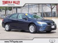 2016 Toyota Camry LE Sedan Front-wheel Drive in Temecula