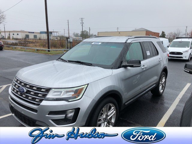 Photo Used 2016 Ford Explorer XLT NAVI LEATHER REAR BUCKET SEATS 20 INCH WHEELS PWR LIFTGATE SUV