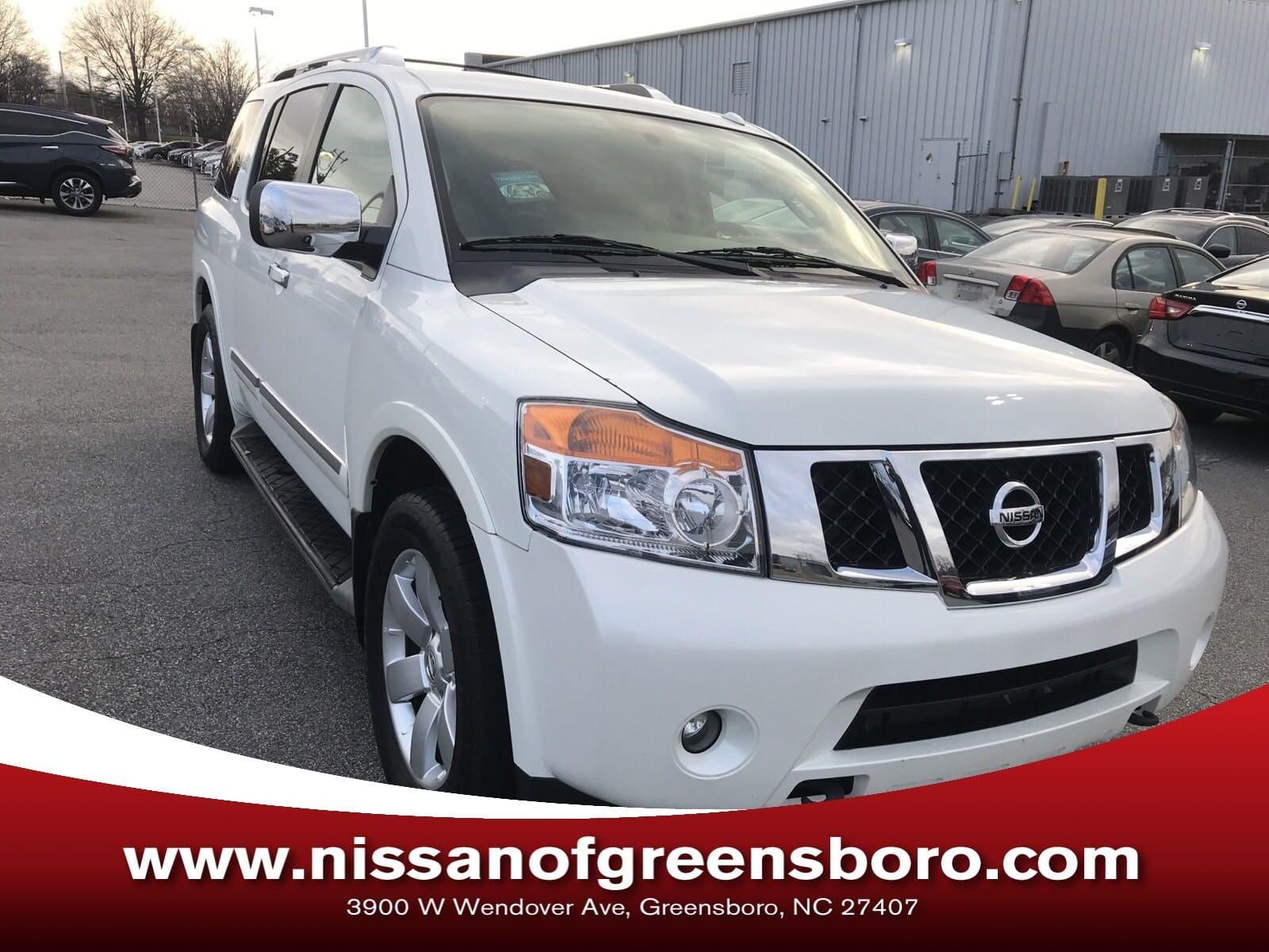 Photo Certified 2013 Nissan Armada SL SUV in Greensboro NC