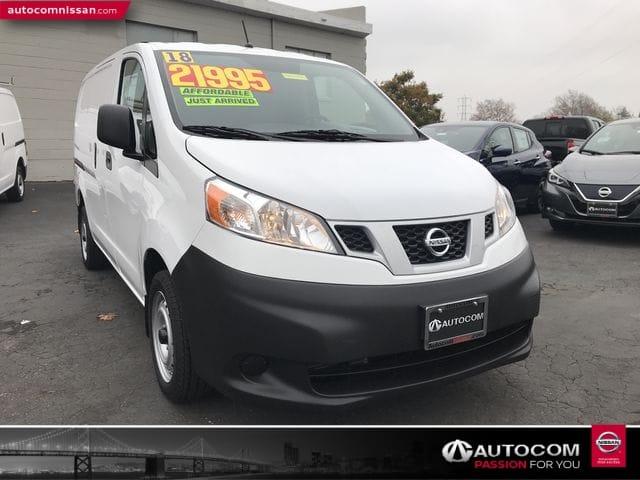 Photo Used 2018 Nissan NV200 S Van Compact Cargo Van in San Leandro, CA